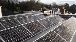 solar pv panels woodbrooke